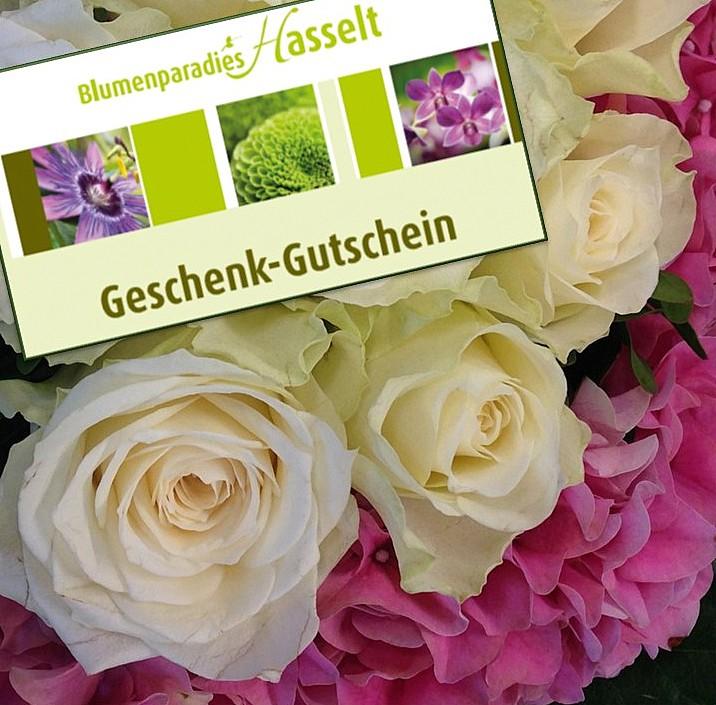 Gartencenter Blumen-Gutschein